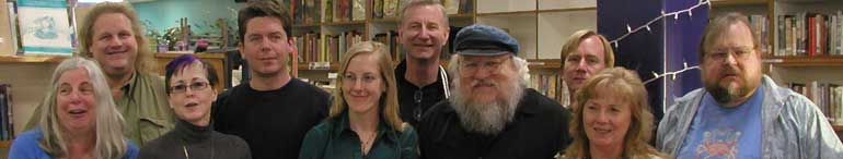 George RR Martin's Wild Cards - Group Photo